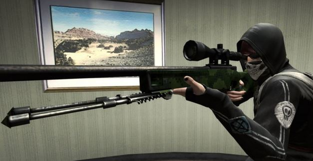 cs:go market shoppers in using snipers